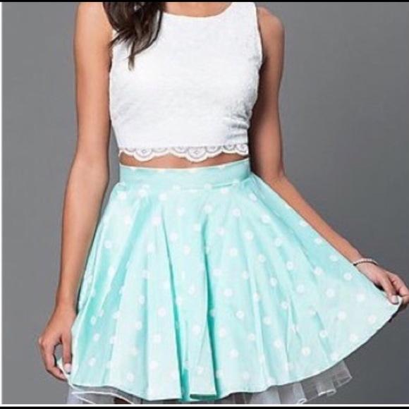 eec9a3ee3e3e Dresses   Skirts - Girls two piece semi formal dress